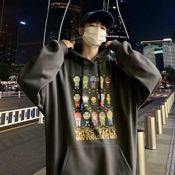 Áo hoodie in hình siêu nhân đầy phong cách