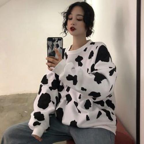 áo hoodie bò sữa không nón