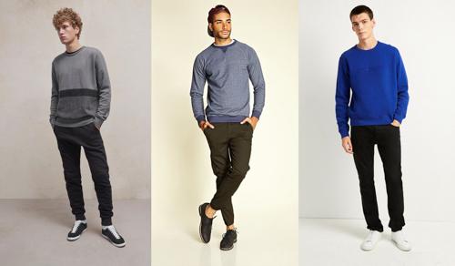 áo sweater nam một item thời trang thu đông cực kỳ được ưa chuộng