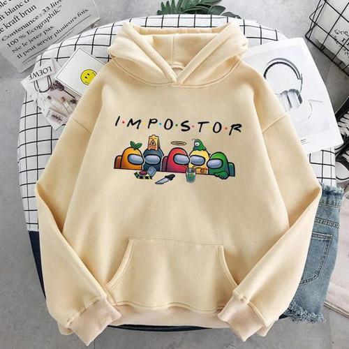 áo khoác hoodie in hình Impostor