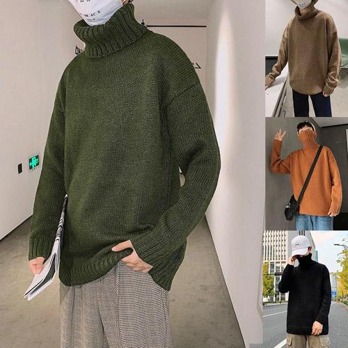 áo sweater nam cổ lọ cực chất cho các chàng trai