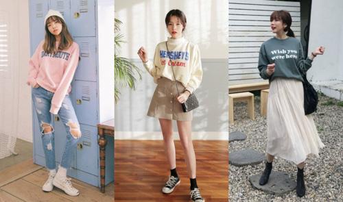 áo sweater nữ dễ dàng kết hợp giúp bạn đa dạng phong cách