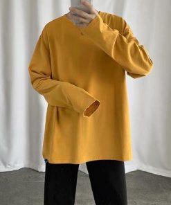 Áo thun tay dài dành cho giới trẻ nhiều màu sắc