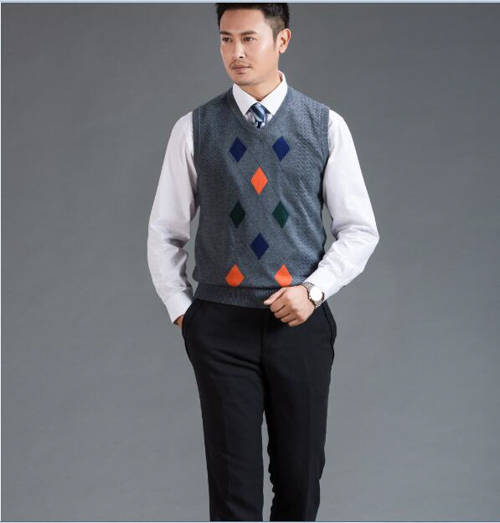 áo sweater vest nam